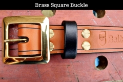 Brass Square Buckle