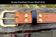 Brass Swelled Front West End