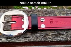 Nickel Scotch Buckle