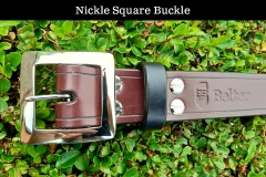Nickel Square buckle