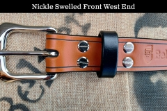 Nickle Swelled Front West End